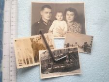 YUGOSLAVIA WWII PHOTO GERMANY ARMY OFFICER UNIFORM FLAG LOT 4 ARMEE FOTO FAMILY