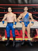 WWE VAUDEVILLAINS GOTCH & ENGLISH FIGURE BASIC BATTLE PACK SERIES 41 MATTEL