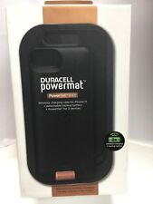 Duracell Powermat iPhone 5 5S PowerSet 2 II Kit - Case & Charging Pad -Brand New
