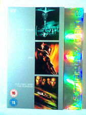 Pitch Black + XXX + The fast and the Furious Vin Diesel - 3 movies DVD