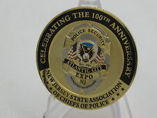 100th Anniversary of New Jersey Association of Chiefs Police Challenge Coin