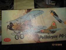 KP Models 1:72 Polikarpov PO-2 Model Kit #KP009*-FREE SHIPPING