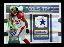 """2009 Playoff Absolute Troy Polamalu """"TOTT-BLUE STAR PATCH"""" Steelers-15/25"""