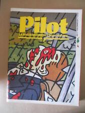 PILOT Rivista Fumetti n°8 1984 Sicomoro IL Teschio di Cristallo  [G329]