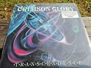 CRIMSON GLORY Transcendence US 1988 LP Heavy Metal Classic with Press Kit Rare