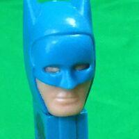 Vintage Batman Pez Dispenser Candy Superhero 1985 Blue DC Comics Slovenia