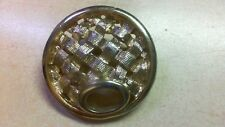 Signed Sarah Coventry Dv1 Vintage Gold Toned Pin Brooch