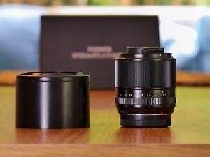Fujifilm XF 60mm f/2.4 Macro Lens - As new Condition