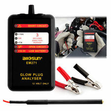 12V Automotive Glow Plug Analyzer Vehicle Car Motor Tester LED Diagnostic Tool