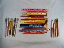 31 Advertising Pens & Pencils Various Makers & Sizes Nice Assortment Vintage (O)