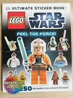 LEGO - INSTRUCTIONS BOOKLET ONLY Ultimate Sticker Book  - Star Wars - N/A