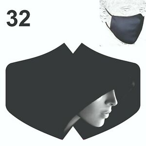 Face Mask Fashion Reusable Breathable Washable Double layer Protection Cover UK