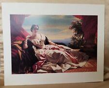 1999 J. Paul Getty Museum Franz Xaver Winterhalter Print Portrait of Leonilla
