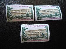 COTE D IVOIRE - timbre yvert et tellier n ° 335 x3 n** (TU) stamp