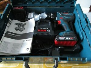 GSB 18-2-Li Plus Combi Drill BOSCH Charger & Case 2 x 2.0Ah Batteries