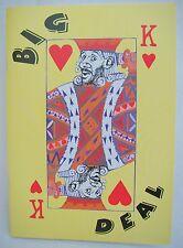 David Horner Funny Poems - Big Deal - 2002 - signed copy - ISBN 1 898376 15 8