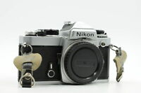 Nikon FE SLR Film Camera Body Chrome #331