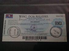 Malaysia Postal Order RM2
