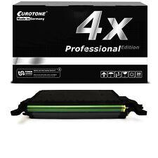 4x PRO Patrone SCHWARZ ersetzt Samsung CLT-K5082L K5082L CLT5082