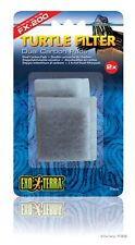 2-Pk. Exo Terra Replacement Dual Carbon Pads for FX 200 Turtle Filter PT3638