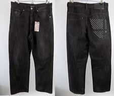 "Authentic Rocawear designer, Jean homme, taille 32"", Jambe 30"", coupe droite noir"