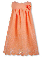 Bonnie Jean Girls' Gingham Rosette Dress