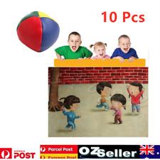 10X Durable PU Juggling Balls Set For Magic Circus Beginner Kids Toy Gift Fun AU