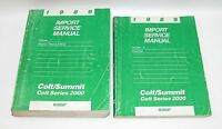 1989 Dodge Colt Summit Factory Service Manuals  GOOD USED CONDITION