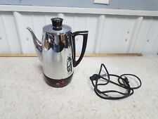 Vintage Art Deco ElectricToastmaster Model 5D1Percolator Coffee Pot Maker 10 cup