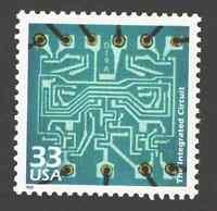 US. 3188 j. 33c. Integrated Circuit, 1961. Celebrate The Century. MNH. 1999
