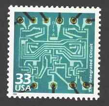 US. 3188 j. 33c. Integrated Circuit, 1961. Celebrate The Century