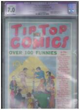 United Features Syndicate Tip Top Comics #1 CGC Apparent 7.0 1936 1st App Tarzan