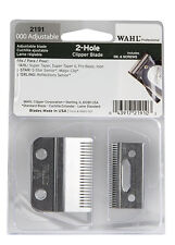 WAHL 2-Hole Clipper Blade 2191 000 Adjustable Replacement Blade 5-Star