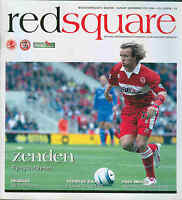 Football Programme - Middlesbrough v Bolton Wanderers - Premiership - 2004