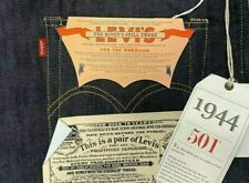 Levis Vintage Clothing 1944 501 Jeans Rigid Made in USA W36/L34