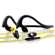 NoiseHush NS200 3.5mm Sports Neckband Stereo Headset - Black/Yellow