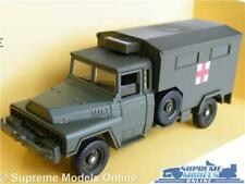 ACMAT MILITARY ARMY AMBULANCE MODEL TRUCK LORRY GREEN 1:50 SCALE SOLIDO 6159 K8