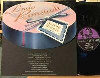 Linda Ronstadt Lush Life Vinyl LP Asylum 9 60387-2 Nelson Riddle NM 1st Pressing