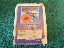 Joe Walsh- 'The Smoker You Drink' 8-Track Tape Cartridge- Tested, Works