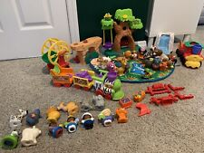 Fisher Price Little People ABC A - Z Learning Zoo Complete 26 Animals Extra Toys