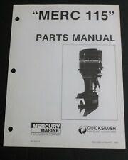 1983 Mercury Merc 115 HP, 6 CYL, 5600967 thru 6436122 Parts Manual List 90-92214
