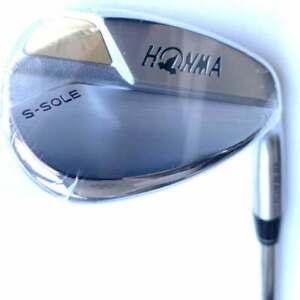 New Honma T/World S-Sole Lob Wedge 60° w/ N.S.PRO Modus 3 Wedge Flex Steel Shaft