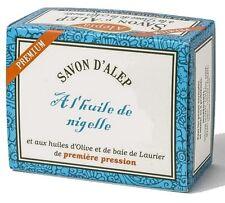 Lot de 4 savons d'Alep Premium à l'huile de Nigelle