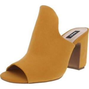 DKNY Women's Hester Mule Sandals Yellow Size 8