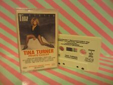 TINA TURNER Private Dancer CASSETTE