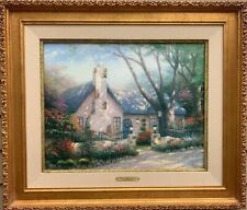 """Tomas Kinkade """"Morning Glory Cottage"""" Limited Edition,  A/P on Canvas, 85/495"""