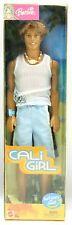 Barbie Cali Girl KEN Surf Boy Doll Suntan Blue Shorts White Top Rooted Hair 2003