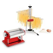 Klarstein Macchina Pasta fresca Rossa attacchi acciaio Rullo Spaghetti ravioli