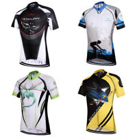 Boys' Short Sleeve Cycling Jersey Kids Bike Clothing Bicycle Cycle Jersey Shirts