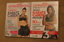 Anna Lewandowska: Trening Karate Cardio Military (2DVD)  KOMPLET